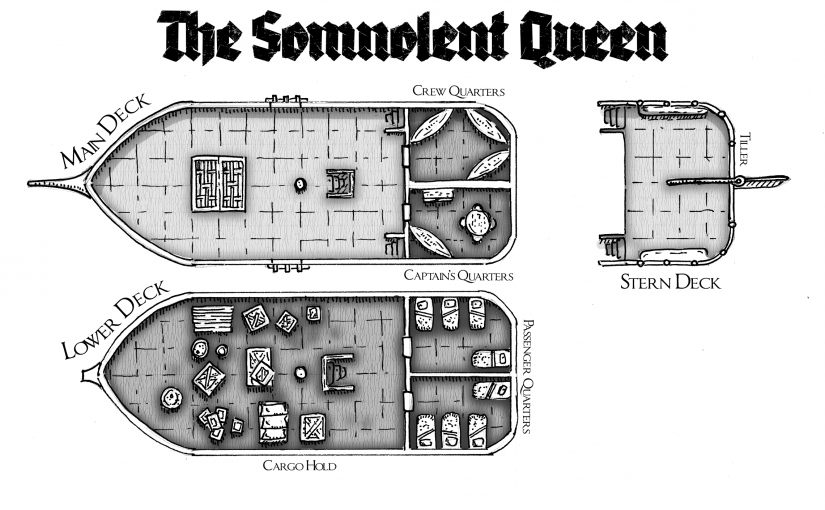 Map: The Somnolent Queen